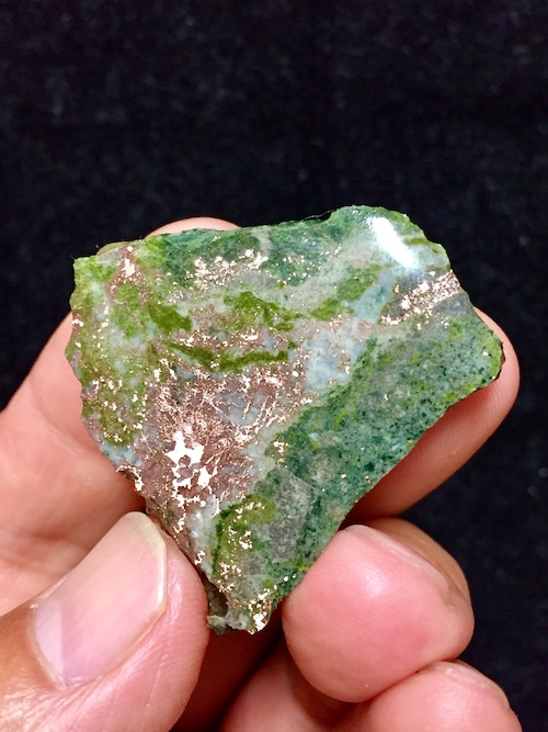 8) ミシガン州産 自然銅