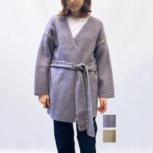 LAGUNAMOON(ラグナムーン) ハンドステッチニットカーディガン 2021秋物新作  [送料無料]