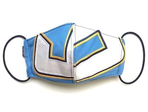 【デザイナーズマスク 吸水速乾COOLMAX使用 日本製】SPORTS MIX MASK CTMR 0919010