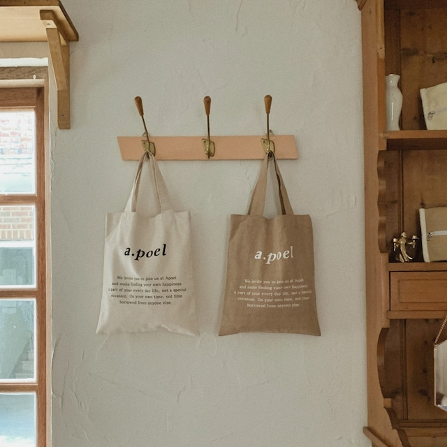 [a.poel]  mini eco-bag(全2色)