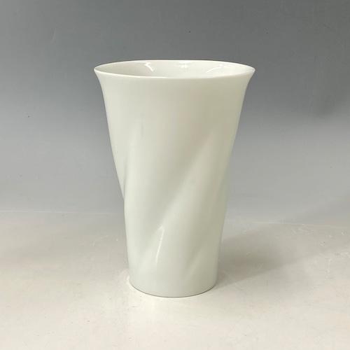 【中尾純】白磁ひねりカップ(大)