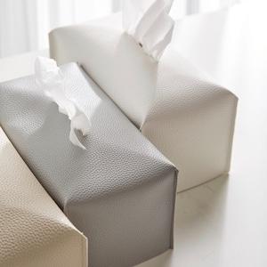 【特価】hotel style tissue cover 3colors / ホテル式 ティッシュ ケース カバー 韓国雑貨