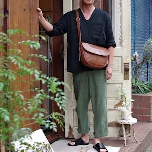 "OLD COACH 9834 ""Brown"" Leather Shoulder Bag / オールド コーチ レザー ショルダー バッグ / ブラウン"