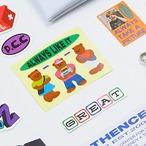 「TEDDY BEAR V5」 ヴィンテージステッカー