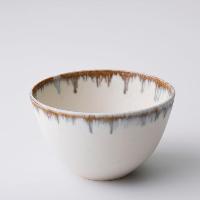 """京焼ボウル「クリーム釉彩」 Kyo-ware bowl""""Cream YUSAI"""""""