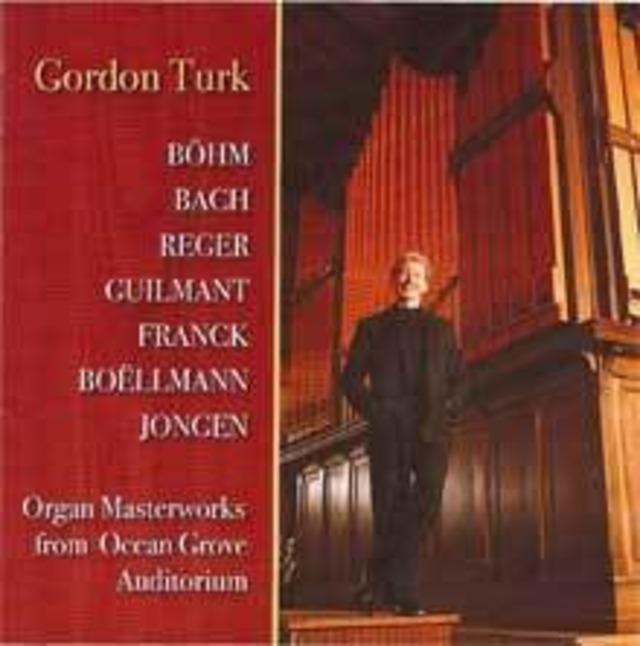 オルガン・マスターワークス(オーシャン・グローヴ) 演奏:ゴードン・ターク(オルガン)