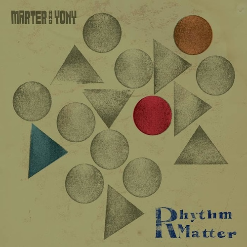 【ラスト1/LP】Marter & Yony - Rhythm Matter