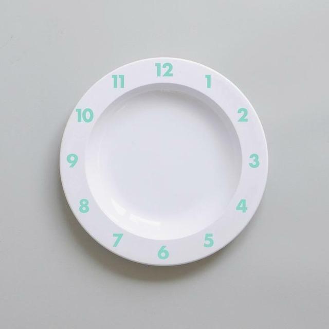 BUDDY+BEAR Dinner Time Plate 23cm [mint]
