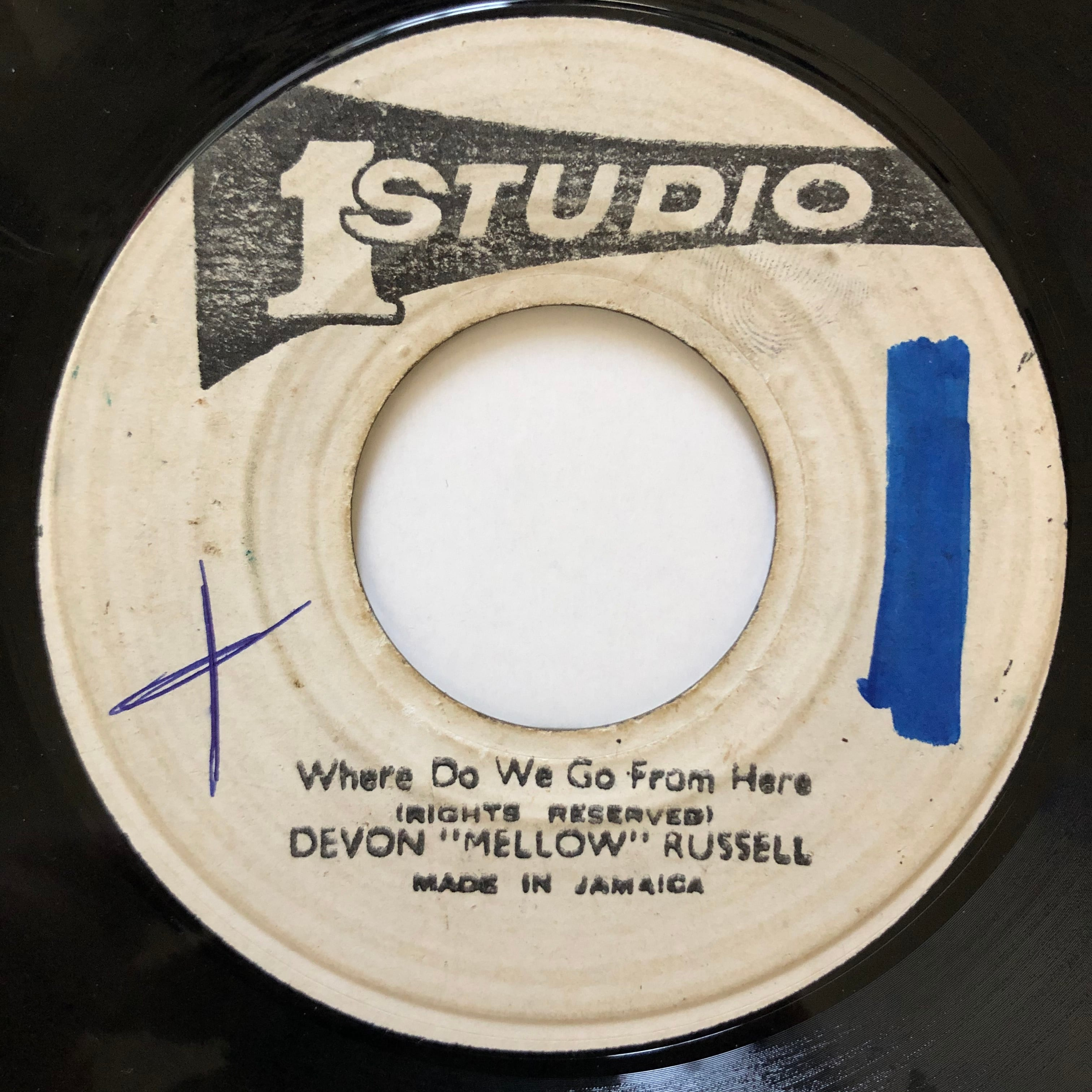 """Devon """"Mellow"""" Russell - Where Do We Go From Here【7-20561】"""