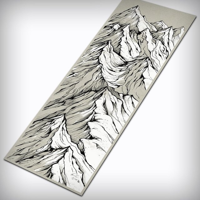 J skis - CASCADE アートワーク