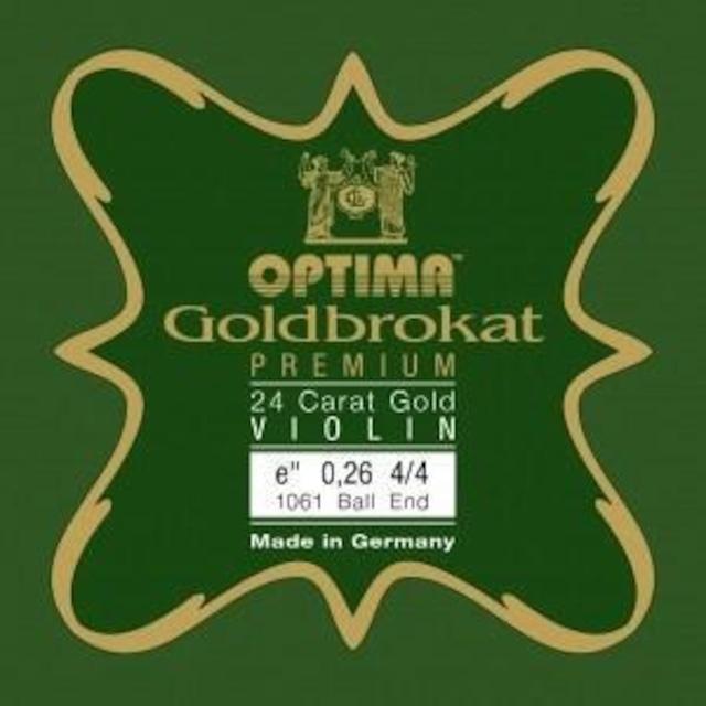 オプティマ / ゴールドブロカット プレミアム・ゴールド24k 0.26 ループエンド