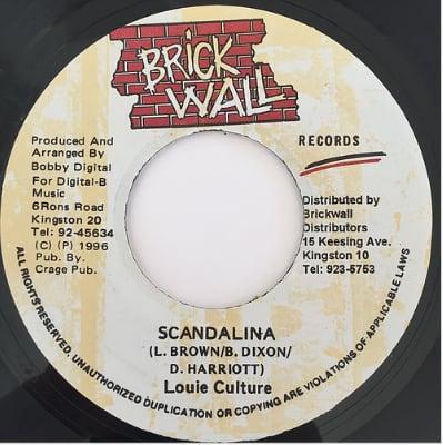 Louie Culture(ルーイカルチャー) - Scandalina【7'】