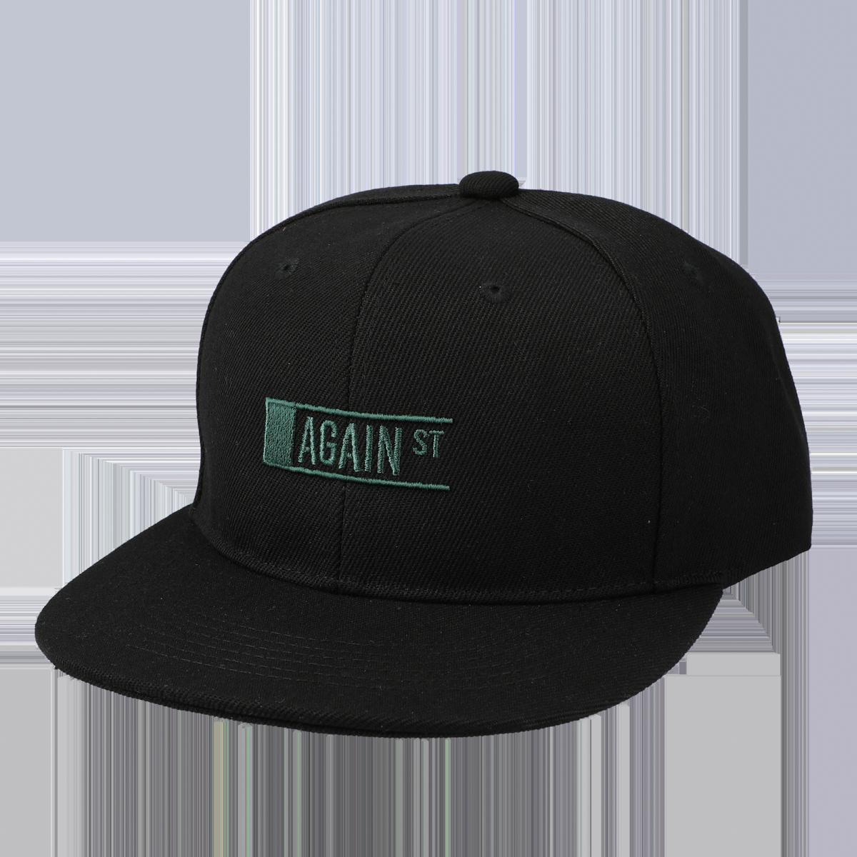 AGAINST LOGO CAP