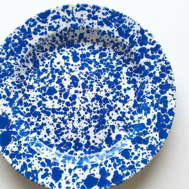 "CROW CANYON HOME ""DINNER PLATE BLUE"" φ26cm"