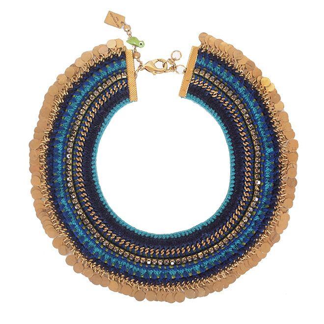 Maya-Bazaar ノマド チョーカー Blue