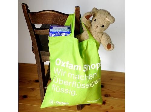 OXFAM Deutschland ドイツ  エコバッグ 緑 お買い物バッグ ショッパー