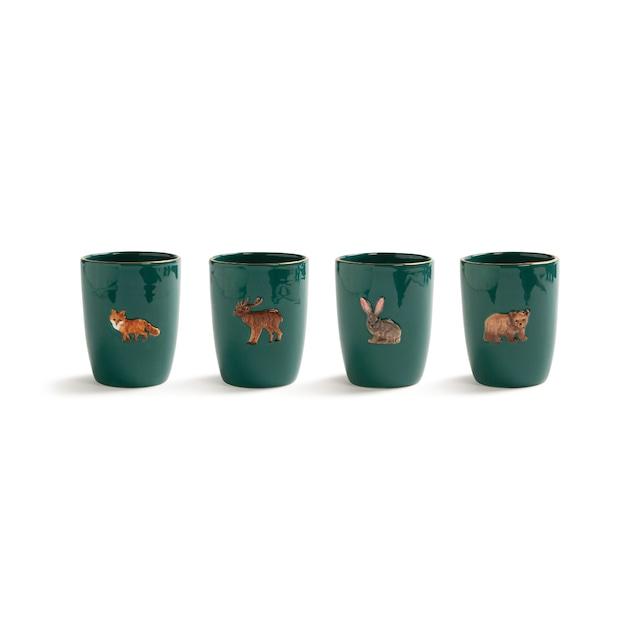 &k amsterdam - Mug - Forest animal set