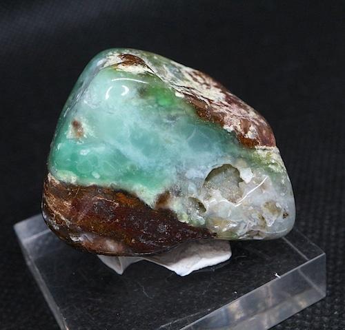 クリソプレーズ 緑玉髄 オーストラリア産  43,9g CSP006  原石 天然石 鉱物 パワーストーン