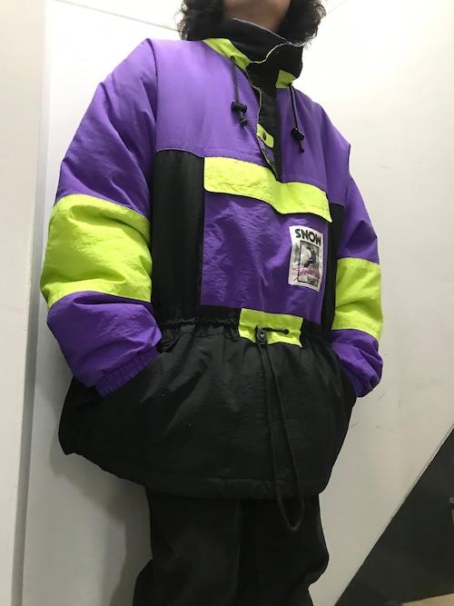 90's Snow Gear 中綿アノラックジャケット