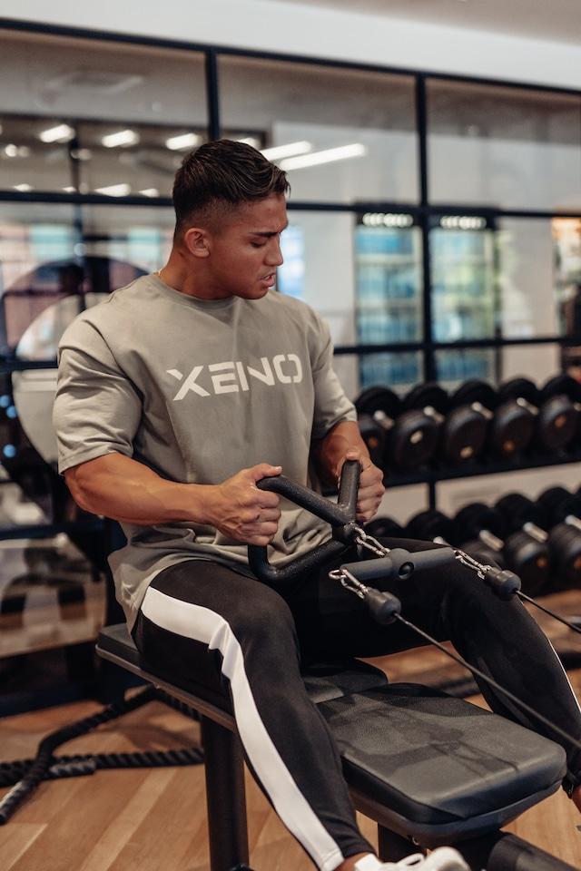 XENO OVERSIZED LOGO T-shirt Ash Green