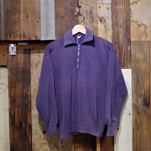 1950-60s PENNEY'S Half Zip Sweat Shirt / ペニーズ ヴィンテージ スウェット ナス紺