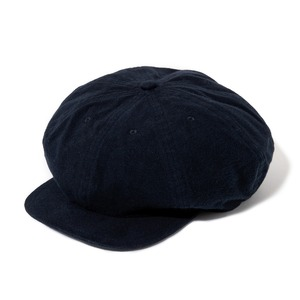 """Just Right """"Sports-Newsboy Cap Brushed Twill"""" Navy"""