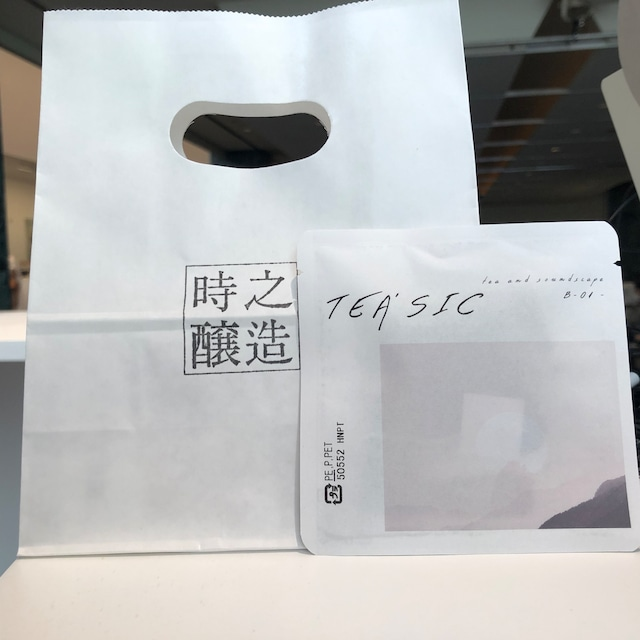 味わいの音楽付き日本茶 TEA'SIC B-01