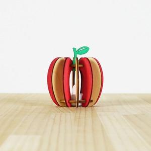 「りんご」木製ミニランプ