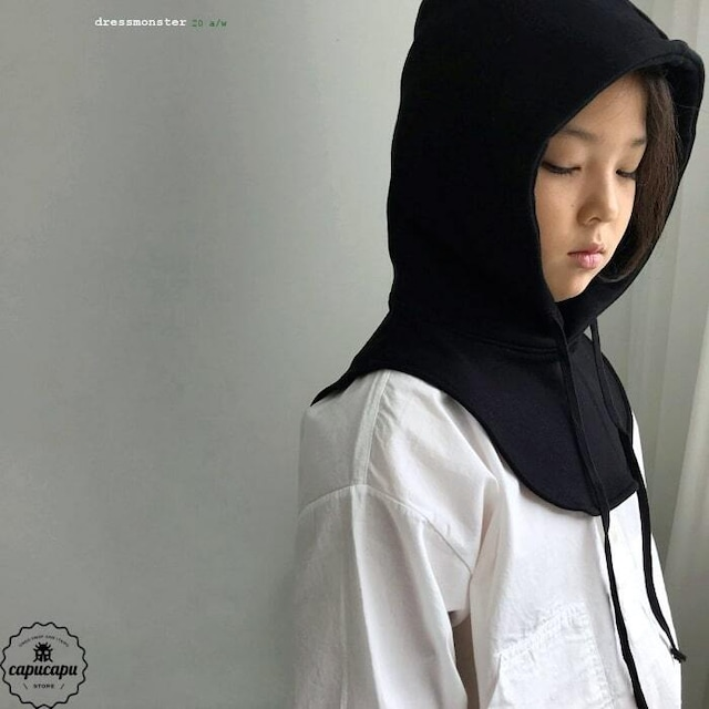 «即納» dressmonster hoodie neck warmer 3colors