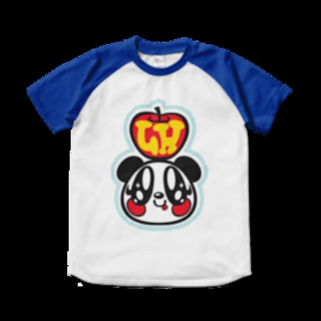 LOVERSHOUSE Apple and Merry/スーパーラヴァーズラグラン配色Tシャツ