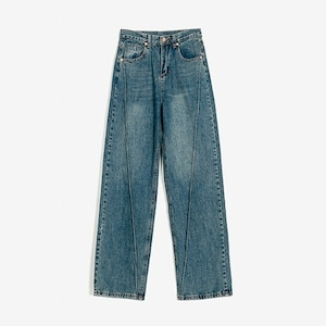 3D line wide denim pants(3Dラインワイドデニムパンツ)b-480