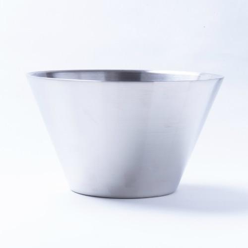 韓国ステンレス食器(3号)【直径16㎝/高さ9.5㎝】Western Style