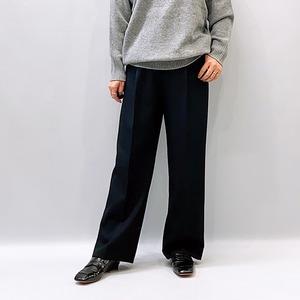marmors(マルモア) wool twill straight pants 2021秋冬新作 [送料無料]