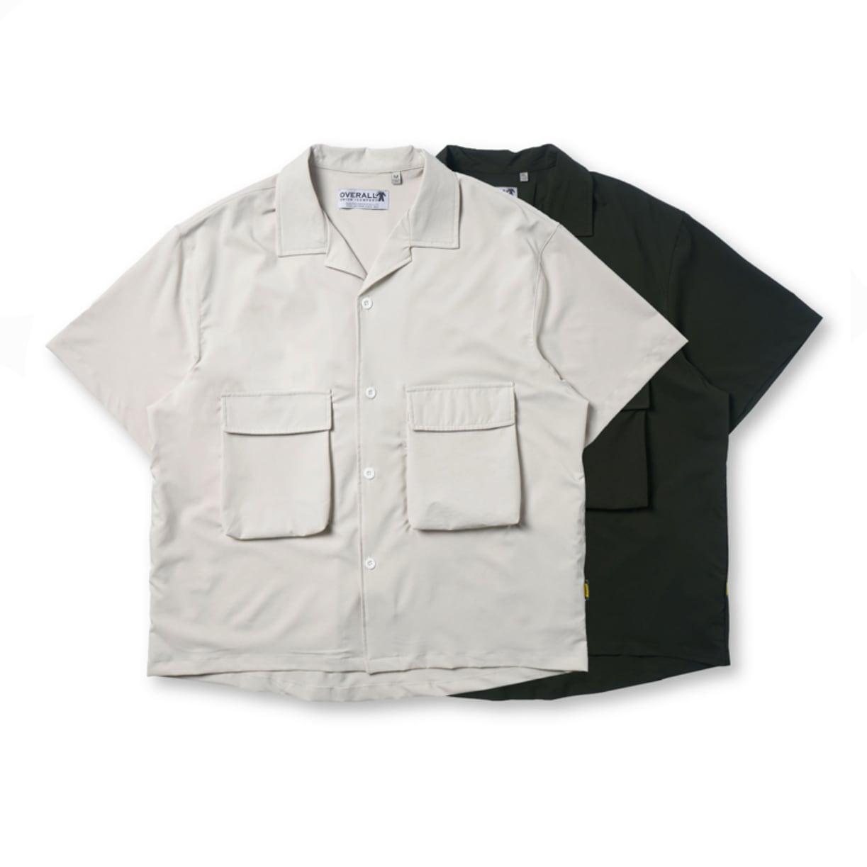 【UNISEX】アウトドア マルチポケット ショートスリーブ シャツ UN-563