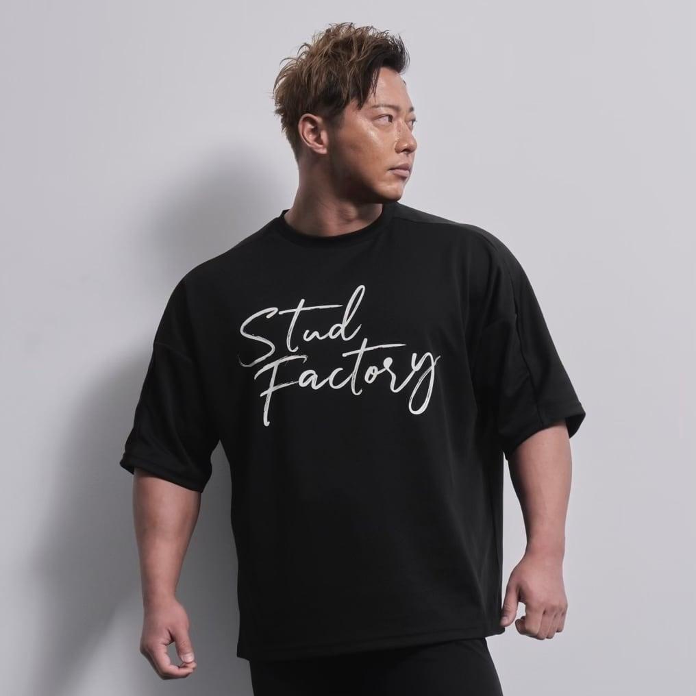 loose fit dryT-shirt  (BLACK)
