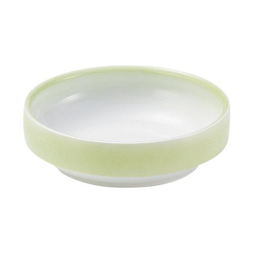 強化磁器 14.5cm すくいやすい食器 ぼかし若草【1714-2780】