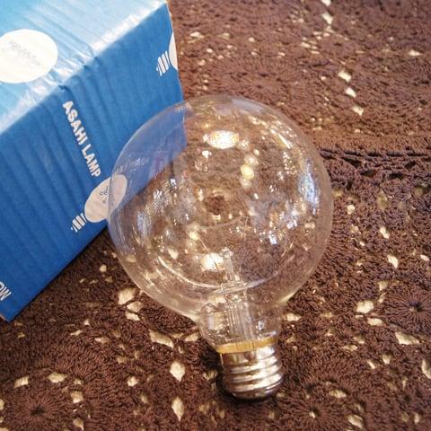 E26 100W ボール球 クリア (白熱電球)