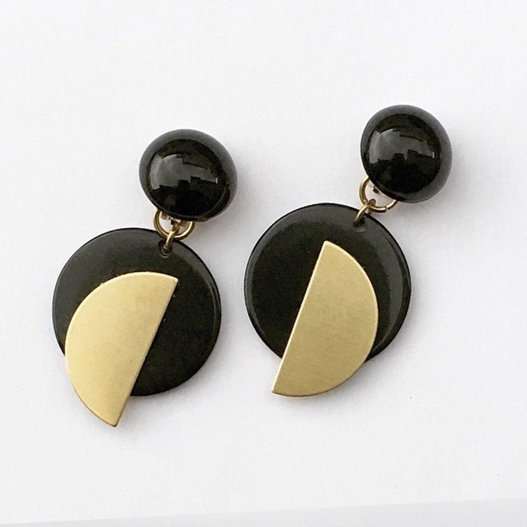 Frying earrings L-021
