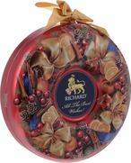 【インポート商品】リチャードクリスマスリース 缶入り紅茶 80g レッド色