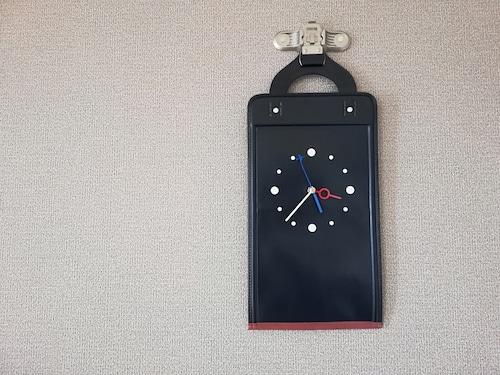 【掛-kakeru- シリーズ】Wall Clock black