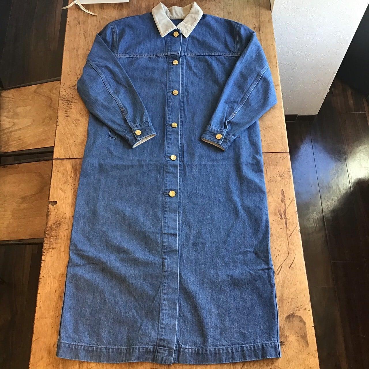 UNUSED US1886 DENIMU COAT color blue size 00