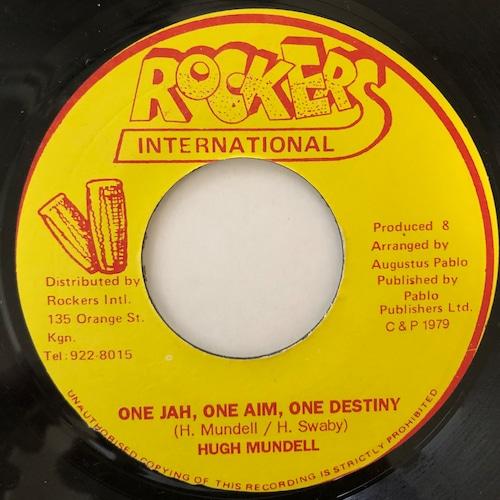 Hugh Mundell - One Jah, Aim & Destiny【7-20682】