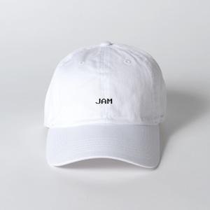 JAM LOGO CAP (WHITE)