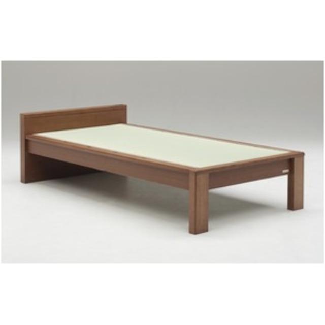 畳ベッド【ベッドフレームのみ】【スミカ】 (セミダブル・ナチュラル・フラットタイプ) グランツ GLANZ【代引不可】