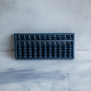 青い昔の算盤