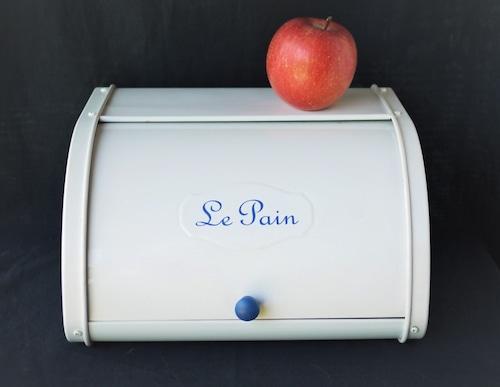 ロールトップブレッド缶 Le Pain パン食品収納庫 フレンチカントリー