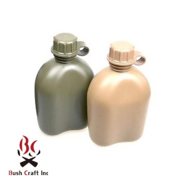 Bush Craft Inc ブッシュクラフト ROTHCO GIスタイル 1QT キャンティーンボトル ブラック 自然派 キャンプ アウトドア