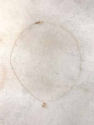 【aunn】Mon petit cherry necklace
