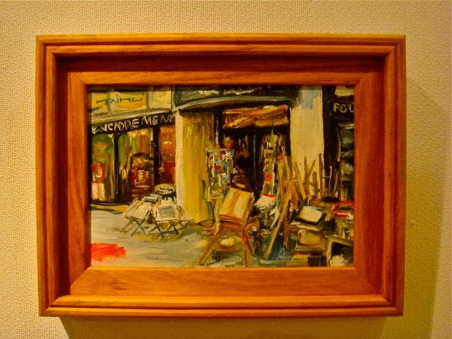 街の画材屋さん サムホール(横22.7cm×縦15.8cm)