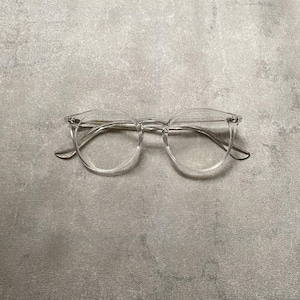 Clear frame